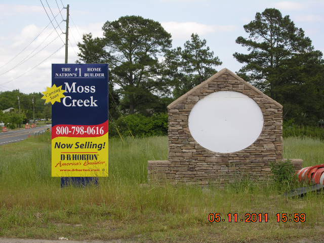 New Homes being built by D.R. Horton