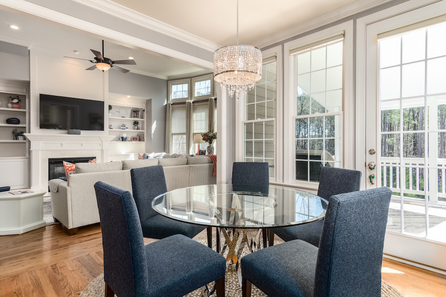 Towne Pointe home interiors